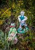 Garden ornaments at Norden.