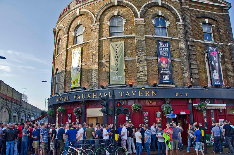 One of the highlights of the London trip was The Dame Edna Experience at the Royal Vauxhall Tavern on July 8, 2012. Jonathan Paul Hellyer has some serious pipes, huge range. What an amazing show and vibe among those in the crowd