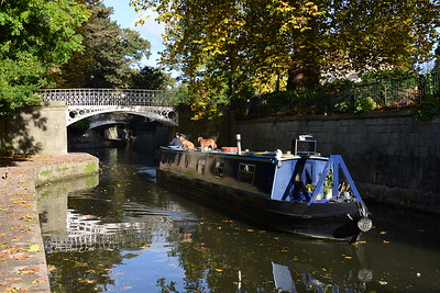 Kennett & Avon Canal at Sydney Gardens