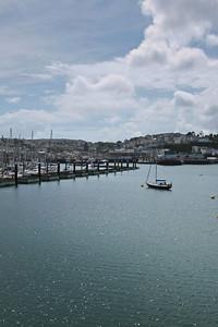 Brixham harbour approach