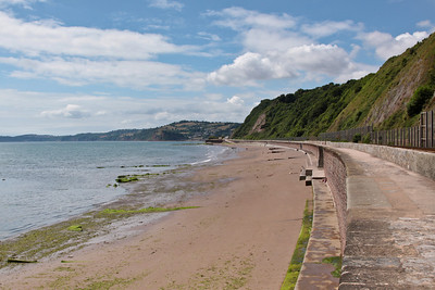 Teignmouth coastline