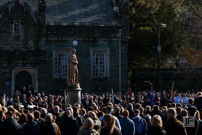 Armistice Day, Tavistock