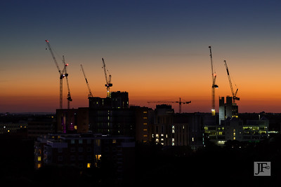 Bournemouth skyline