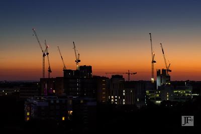Bournemouth skyline