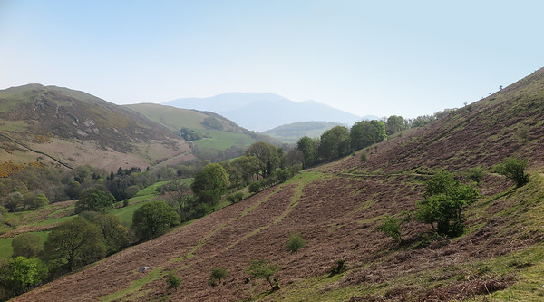 Wythop Valley and Skiddaw