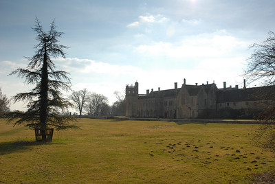 Lacock Abbey, Wiltshire, March 2010.