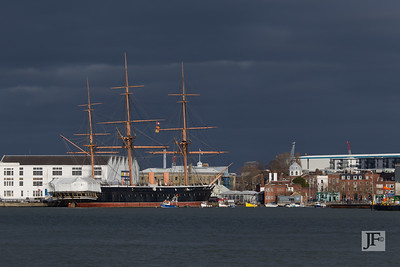 HMS Warrior, Portsmouth