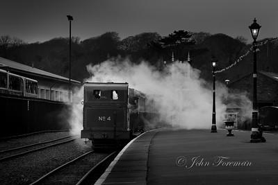Steam railway, Douglas