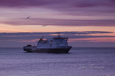 Steampacket ferry, Isle of Man
