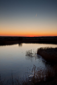 Sunrise over the marshes
