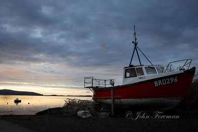 Stein bay, Skye