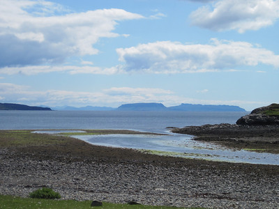 Eigg from Camasunary
