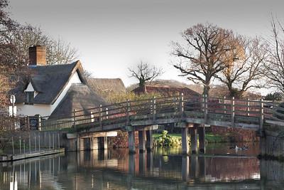 Flatford Mill bridge - 09