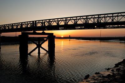 Bridge over the river Blythe