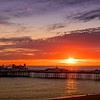 Sunset over Brighton Pier