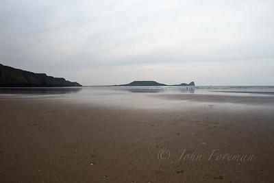 Rhossili beach, Gower Peninsula