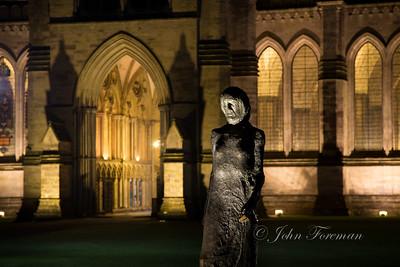 Walking Madonna, Salisbury Cathedral