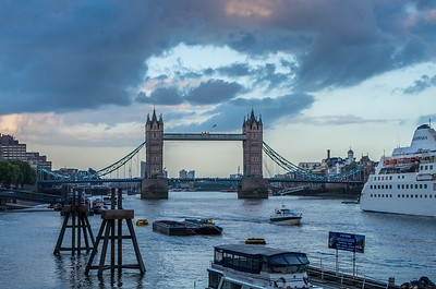 Tower Bridge at blue hour, how perfect!