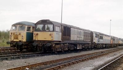 58034-LINE-UP-CARR-LOCO-25-9-1999