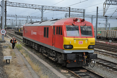 DBS 92015 stabled at Willesden (16.06.2012)