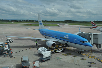 PH-BGQ (KLM, B737-7K2(WL)) provided the transport from Manchester back to Amsterdam (17.06.2012)