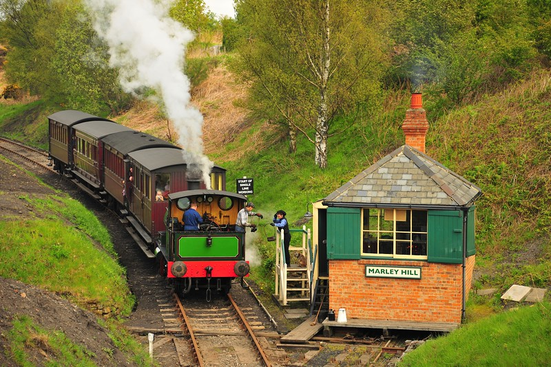 Marley Hill, Tanfield Railway