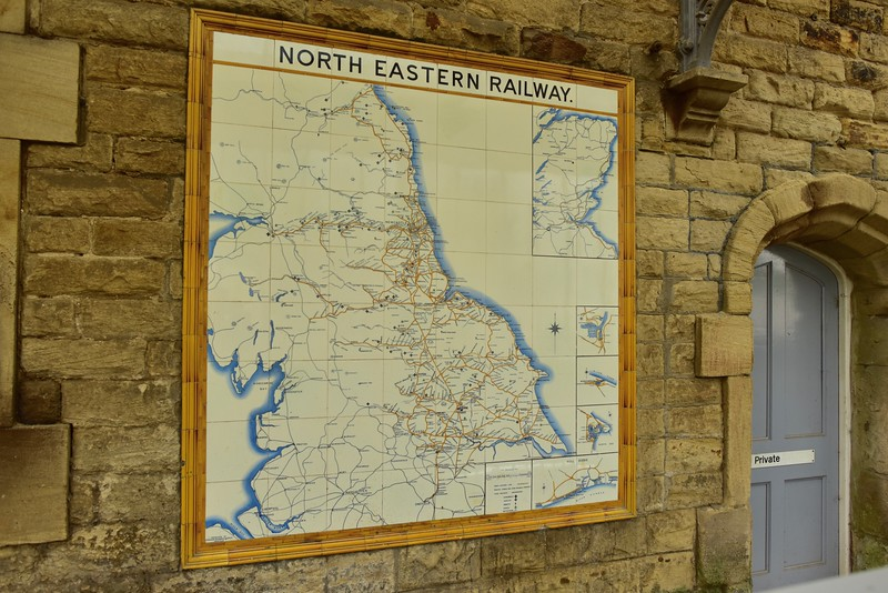 North Eastern Railway Map