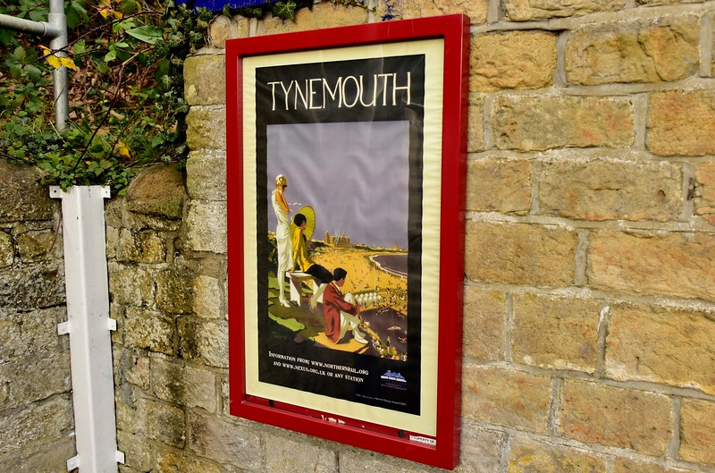 Railway Poster For    Tynemouth