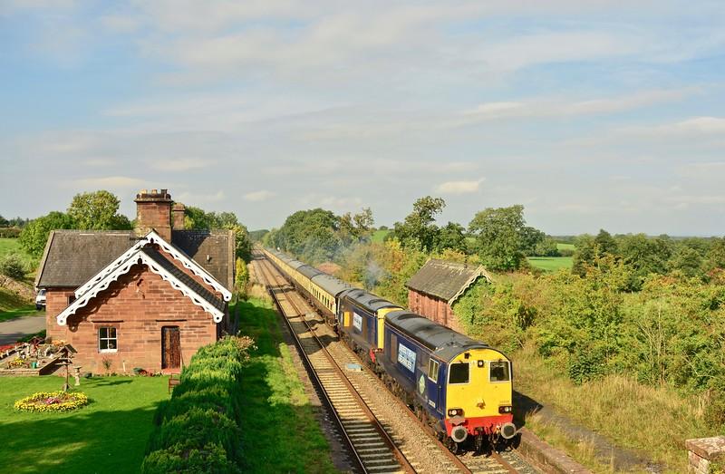 Railtour On The S & C