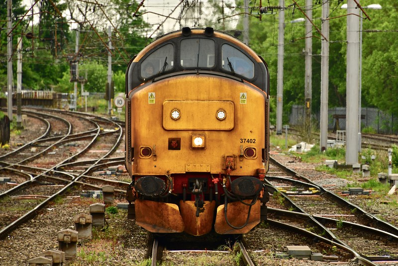 Class 37 Front End View