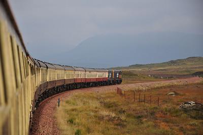 Heading across Rannoch Moor (28.09.2013)