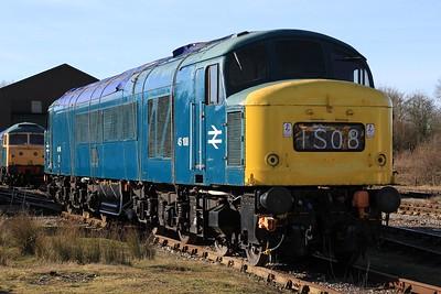 45 108 at Swanwick Jn (08.02.2015)