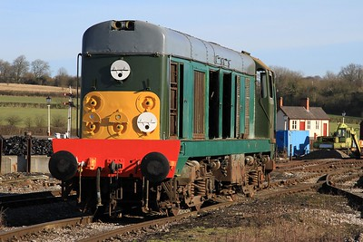20 057 undergoing restoration at Swanwick Jn (08.02.2015)