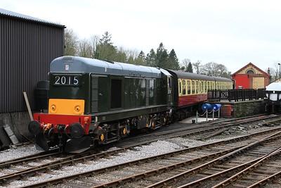 20 214 idling on Haverthwaite shed (06.03.2015).