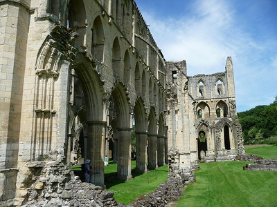 North Yorkshire Moors National Park and Rievaulx Abbey