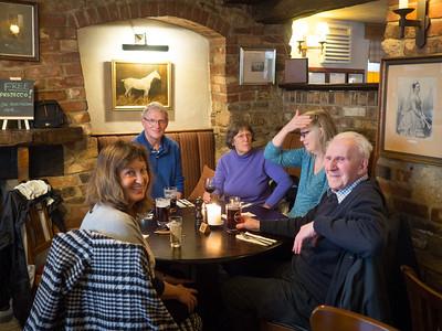 Pub lunch near Dorchester