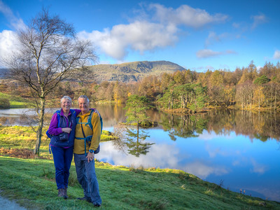 Annabel & Sandy, Tarn Hows, Cumbria