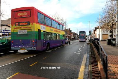 NCT 904, Carlton Hill Top Nottingham, 06-01-2018