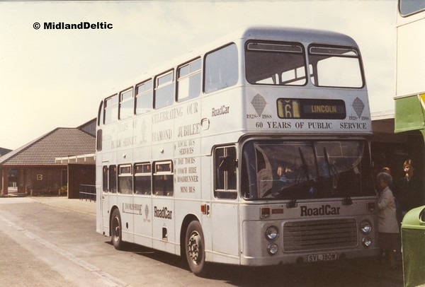 East Midlands Ranger (Bus), April 1990