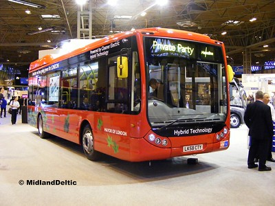 Metroline OTH971 (LK58CTY) Euro Bus Expo NEC Birmingham, 05-11-2008