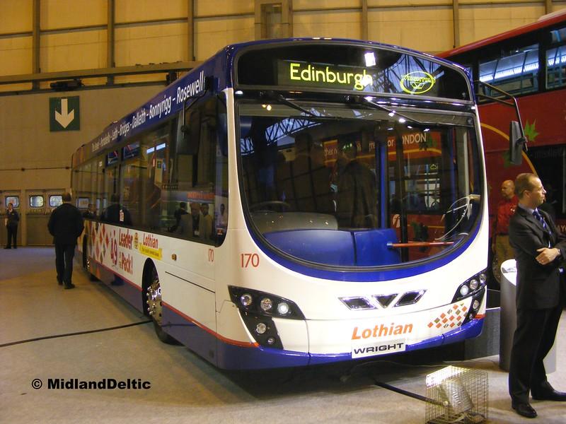 Lothian 170, Euro Bus Expo NEC Birmingham, 05-11-2008