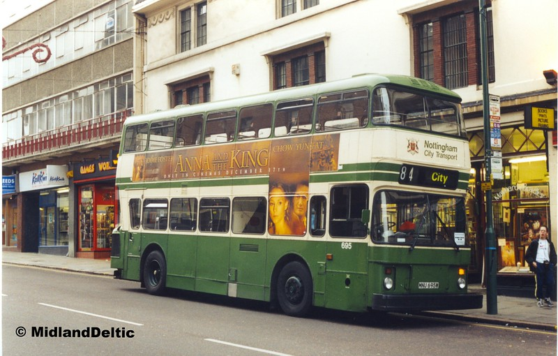 NCT 695, Friar Lane Nottingham, 27-11-1999