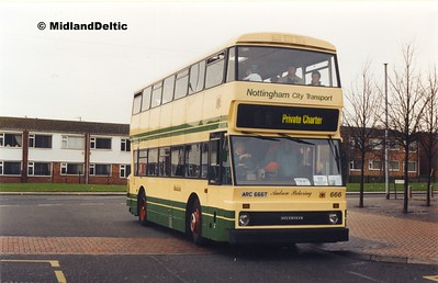NCT 666, Bulwell Bus Station, 27-11-1999