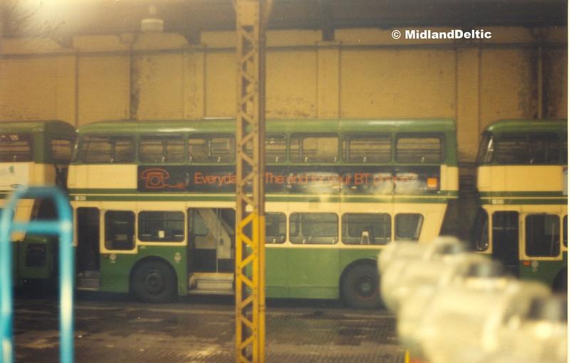 NCT 939 (439), Bulwell garage, 27-11-1999