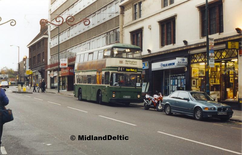 NCT 694, Friar Lane Nottingham, 27-11-1999