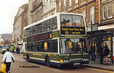 NCT 420, Long Row Nottingham, 27-11-1999