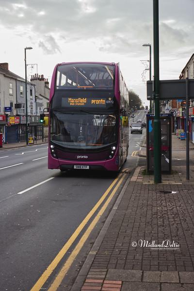 Stagecoach 10972, Mansfield Road Sherwood, 08-01-2020