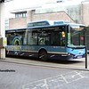 Nottingham Community Transport 989, Broad Marsh Bus Station Nottingham, 03-01-2017