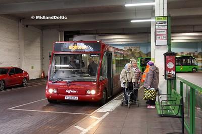 TrentBarton 455, Broad Marsh Bus Station nottingham, 03-01-2017