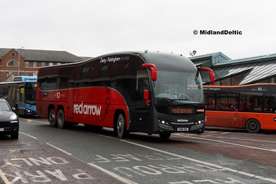 TrentBarton 81, Victoria Bus Station Nottingham, 03-01-2017